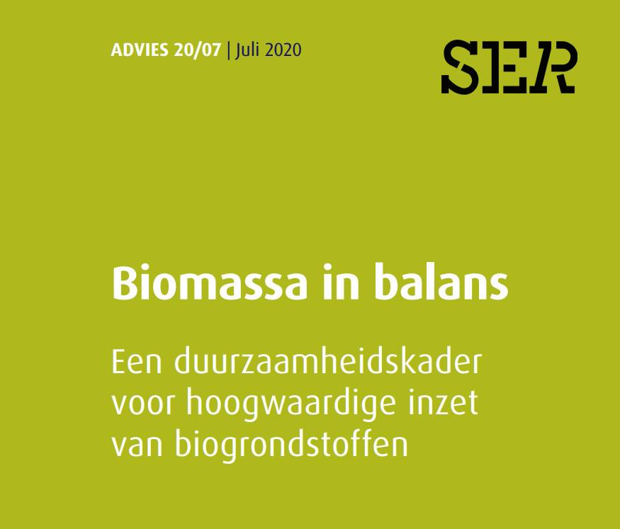 SER advies biomassa in balans